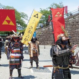 2021年4月25日から〈小田原城に甲冑隊と忍者〉神出鬼没でござる!