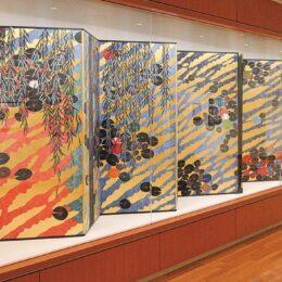 湯河原町在住の日本画家、平松礼二さんがフランス芸術文化勲章を受章!湯河原美術館で作品展示中!