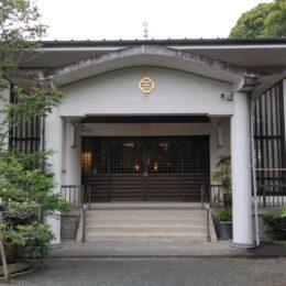 桜も海も富士山も望むことのできる小田原市国府津の寺院「光明寺」