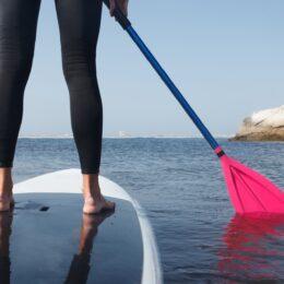 <参加者募集中!葉山町在勤在住対象>葉山の海で楽しむ「SUP&ビーチテニス体験講座」が6月26日(土)@一色海岸