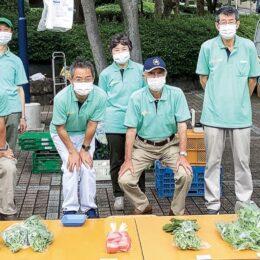 地場野菜を路上販売 「緑園坂の駅ポンテ」@横浜市泉区 緑園都市