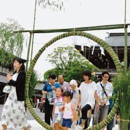 寒川神社で「茅の輪神事」はマスク着用でのご参加を@寒川町