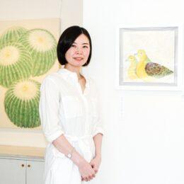 【観覧無料】日本画家・前田有加里さんの日本画展 開催中@大磯町 ギャラリーさざれ石