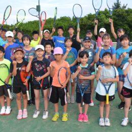【大磯ロングビーチ隣接のテニススクール】キッズからシニア、初心者から上級者までテニスを楽しもう!