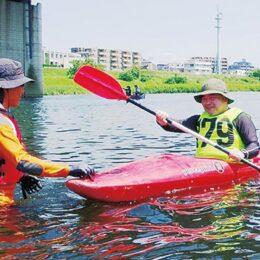 <参加者募集>川崎市内在住・在勤・在学の小学5年生以上対象「カヌー教室 」多摩川の自然を楽しんで!
