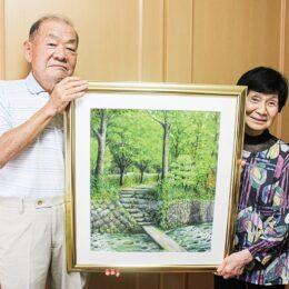 川崎市幸区を中心に30年以上活動「みゆき水彩」展、風景や人物など40点@川崎市・中原市民館