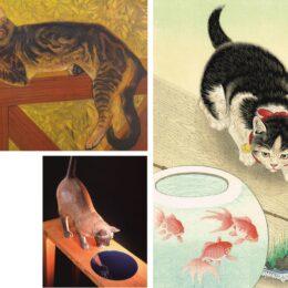 夏の暑さは『ニャンとも不思議』な作品で涼む<招き猫亭コレクション 夏 猫ビヨリ>藤沢市アートスペース
