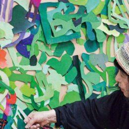 描くことは生きること 現代美術家「上條陽子展」開催@相模原市民ギャラリー