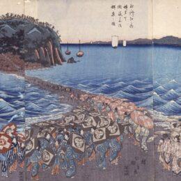 「SHONAN LEGACY ENOSHIMA UKIYO-E 江の島浮世絵大集合」@藤澤浮世絵館