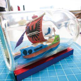 <川崎市在住・在勤・在学の小学生対象>夏休み工作教室「ボトルシップ・アート作り」@川崎マリエン