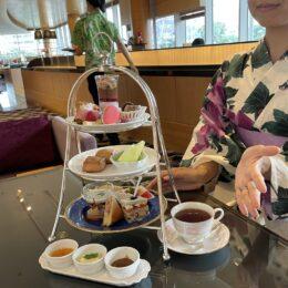 夏の思い出作りに!横浜のホテルで「浴衣でアフタヌーンティー」を体験してきました