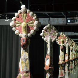 「ガウディの色と形」展  厚木市・東京工芸大 カラボギャラリーで開催中 12月10日(金)まで