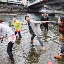 7月18日(日)逗子観光協会などが「水辺の安全教室」開催
