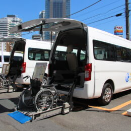 「福祉車両の購入助成の活用を」パチンコ・パチスロの神奈川県内における遊技業界の社会貢献活動を知っていますか?