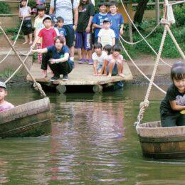 【横浜市緑区】子どもも大人も!健康的に自然と戯れる フィールドアスレチック
