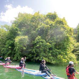 【やまきたLOVE婚】参加者募集!第9回のメインプログラムは丹沢湖で「SUP」体験!