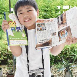 【情報募集中・絵付き石・番外編】川崎市中原区の小学生、夏休みに