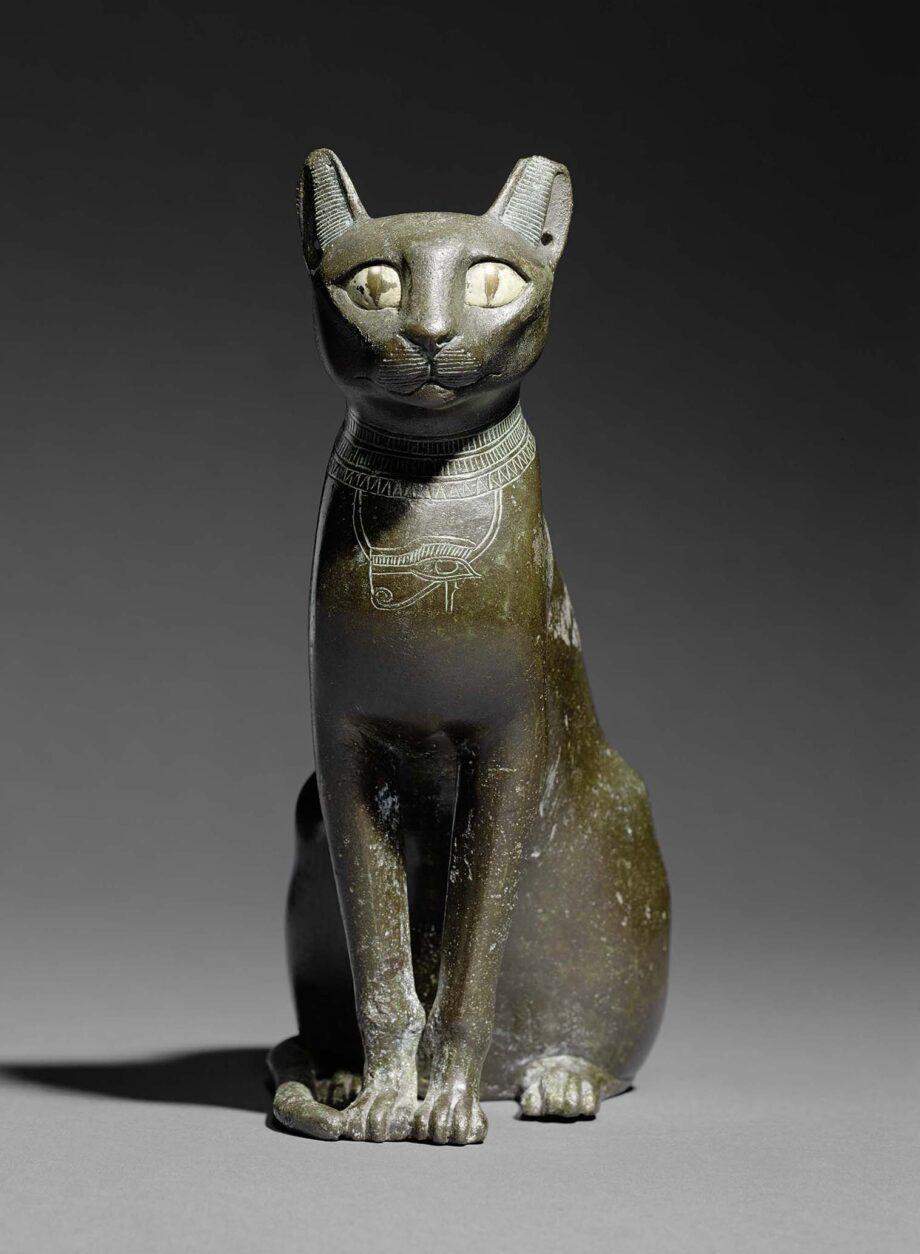 《バステト女神座像》前 610~前595年頃