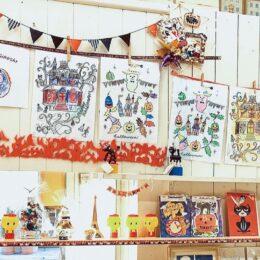 【ハロウィーン】<作品募集>店内で「ぬり絵展」 入賞者には賞品も@川崎市多摩区・登栄会商店街
