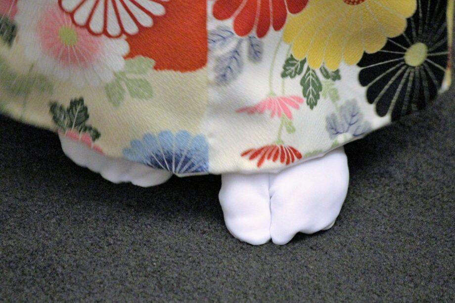 日本民族舞踊舞遊の会による「日本民族舞踊体験」で「はねこ踊り」「芭蕉布」を体験 @麻生市民館体育室
