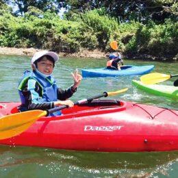 相模川でスイスイ「カヌー体験」参加者募集@寒川町田端スポーツ公園