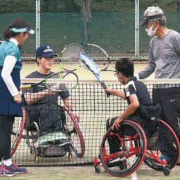 大会参加者を募集「第10回秦野車いすテニス・ニューミックス大会」