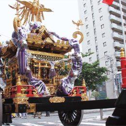 お三の宮日枝神社の大神輿が神輿庫で公開【9月18日・19日】