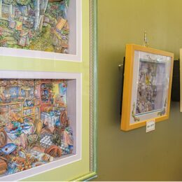 作品展『シャドーボックス』 立体的な絵の世界 @伊勢原市<9月30日まで>