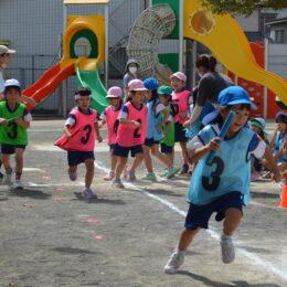 <運動会にむけ練習に汗!>2021年9月の予行練習を徹底取材 白鳥幼稚園(平塚市河内)