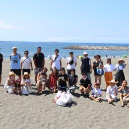 タウンニュースコラボ企画!人気インスタグラマー・中川珠里さんと茅ヶ崎でビーチクリーンを開催しました