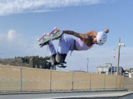 〈インタビュー〉注目の若手スケーター・藤井雪凛さん「湘南・茅ヶ崎から世界を目指す」