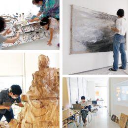 滞在制作の成果披露 「Artist in FAS2021」若手4作家 FAS@藤沢市アートスペース