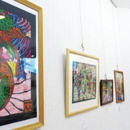 【観覧無料】約10年間の作品を常設展示「切り絵の世界へ」横須賀市東浦賀カフェで始まる