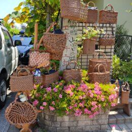 「山葡萄の籠」元八王子町などで展示販売会!使い込むほど飴色に、生活と共に育てるカゴバッグ