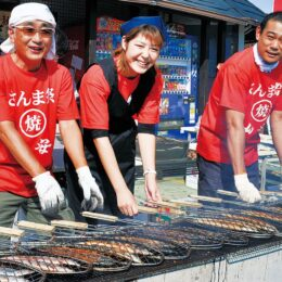 小田原ひものの老舗、山安で「さんま祭」開催!秋の味覚をたのしんで〈10月23日 ターンパイク店〉