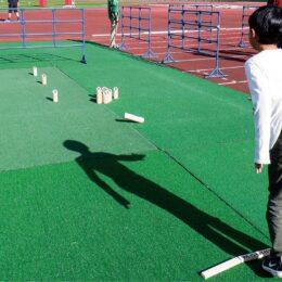 ユニカールやモルック、ターゲット・バードゴルフなど様々なニュースポーツを体験@町田GIONスタジアム