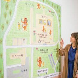 葉山在住イラストレーター・樋口さんが「横須賀美術館」オリジナルキャラクター製作