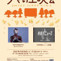 【要申込】初開催!川崎市市民ミュージアムが等々力緑地に出張!「夕やけ上映会 」@川崎市